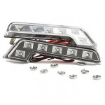 6 leds en bloque - x2 (blanco)
